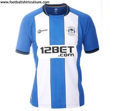 Wigan Athletic 12/13 mi-fit home football shirt
