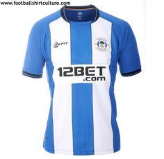 Wigan Athletic 12/13 mi-fit home football shirt
