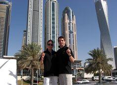 на яхте в Дубаи