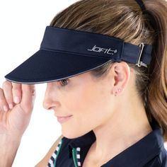 JoFit Ladies Golf/Tennis Jo Visors - Midnight Navy
