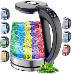 Finden Sie Top-Angebote für Edelstahl Glas Wasserkocher mit Temperaturwahl 2.200 Watt LED Beleuchtung bei eBay. Kostenlose Lieferung für viele Artikel! Keurig, Kettle, Coffee Maker, Kitchen Appliances, Stainless Steel, Corning Glass, Heating Element, Coffee Maker Machine, Diy Kitchen Appliances