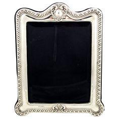 be8bd895c94 Large Edwardian Sterling Silver Photo Frame 1905