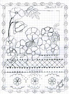 Fleurs bleues, création et réalisation LIANE