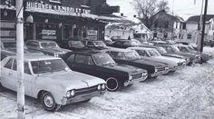 '65 Oldsmobile Dealer Lot