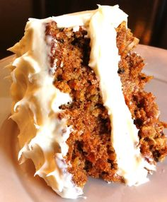 CARROT CAKE This is the best Carrot cake recipe I have ever made!  The cake lasts maybe 2 DAYS at best in my house.