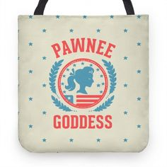 Pawnee Goddess | Tote Bags, Grocery Bags and Canvas Bags | HUMAN