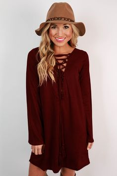 You certainly will make an entrance whenever you wear this dress! Pair it with a hat and booties for a bohemian chic look that is sure to turn heads and steal hearts!