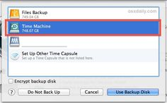 Use a Single External Hard Drive for Time Machine Backups and File Storage  (Apple computers)