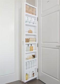 Bathroom Slimline Storage Tower. Solutionscabidoor Behind The Door Storage 199 99 At Dormco