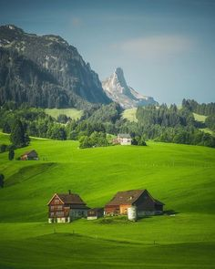 In Appenzell, Switzerland.