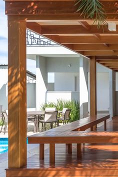 Garden Design, Patio Design, House Design, Custom Home Designs, Custom Homes, Gazebos, Wood Table Design, Mexican Home Decor, Outdoor Living Rooms