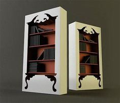 This bookcase  in contemporary and unique. This bookcase  is inspired by classic furniture forms. In an innovative twist, a standard style, ...