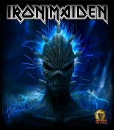 Maiden Seventh, The Brain, The Brave Heavy Metal Bands, Best Rock Bands, Cool Bands, Iron Maiden Mascot, Evil Pictures, Eddie The Head, Power Metal, Punk, The New Wave