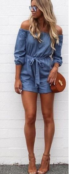 rompers are super cute lazy girl outfits that still look polished!
