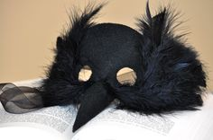 wonderfully handmade – spooky crow mask | Diaper Style Memoirs