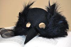 wonderfully handmade – spooky crow mask | Diaper Style Memoirs