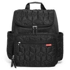 Skip Hop | Forma Diaper Backpack Boy Diaper Bags, Black Diaper Bag, Best Diaper Bag, Diaper Bag Backpack, Sling Backpack, Backpack Storage, Thing 1, Black Shoulder Bag, Shoulder Bags