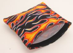 Items similar to Hot Flames Reusable Sandwich Bag SALE Buy Four Get One Free on Reusable Bags on Etsy Reusable Sandwich Bags, Reusable Bags, Snack Bags, Bag Sale, Get One, Sunglasses Case, Hot, Stuff To Buy, Etsy