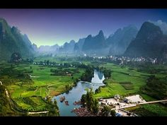 Most Beautiful UNESCO World Heritage Site of Guilin and Yangshuo | Natural landscapes in China - YouTube
