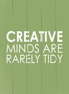 'Creative Minds' Wood Wall Art.  quotes. wisdom. advice. life lessons.