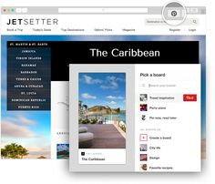 Browser Button | About Pinterest