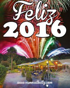 Feliz año nuevo!! El equipo del #vamosalbully #donostia #sansebastian os desea un muy feliz año nuevo y espera veros de nuevo muuuuchas veces por nuestro restaurante este 2016 que acabamos de estrenar. Por ejemplo este 1 de Enero que estaremos abiertos para el servicio de cenas. (a mediodía estaremos cerrados)