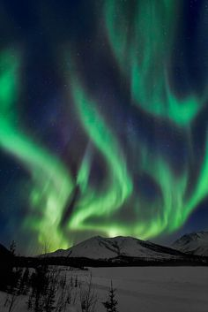 Aurora Borealis in the Brooks Range of Alaska
