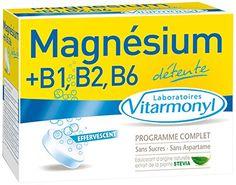 VITARMONYL Magnésium + B1, B2, B6 Effervescent 24 Comprimés – Lot de 2