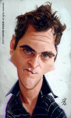 [ Joaquin Phoenix ] - artist: David Duque - website: http://david-duque.blogspot.com/