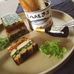 シロー's dish photo 鯖茄子 トマコン テリーヌ | http://snapdish.co #SnapDish #お誕生日 #おつまみ #魚料理 #野菜料理 #プリン/ゼリー
