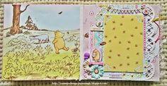Волшебство бумаги: Альбом ВинниПух для девочки. Итог СП Shabby Baby Chic.