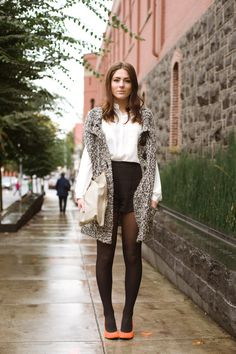 Urban Weeds: Street Style from Portland Oregon: Simona on NW Davis Portland Oregon