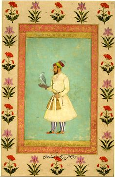 Saeed Khan Zafar Jung, Subahdar of Kabul. Mughal Paintings, Islamic Paintings, Mughal Empire, Horseback Riding, Indian Art, Archaeology, Art History, Persian, Art Prints