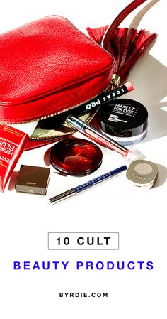 10 of Hollywood's top makeup artists spill the ONE cult product you'll always find in their bag. // #Makeup
