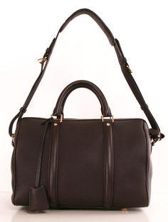 brown leather Louis Vuitton Sofia Coppola bag