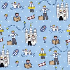 Find the missionary and LDS flannel to fill your church inspired project needs Sewing Crafts, Sewing Projects, Lds Church, Church Ideas, Boys Life, Lds Temples, Patch Quilt, Activity Days, Michael Miller