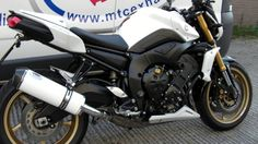 """MTC Motorbike Exhausts manufacture Stainless , titanium and carbon exhausts in road legal and race. With round , oval and tri-oval shapes and with Outlets in single outlet , twin outlet , carbon and GP PRO outlet styles . All road-legal exhausts come with removable baffles.( Decibel Killers ). Lifetime guarantee on all metal parts #MAXTORQUECANS #LOUDPIPESSAVELIVES #MTCMotorbikeExhausts #MTCExhausts #GOBIGORGOHOME #AWESOME #YAMAHAFZ8 www.maxtorquecans.com/""""…"""