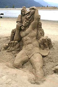 if you expert in building sand castle, you might want to participate this contest Snow Sculptures, Sculpture Art, Building Sand, Art Du Monde, Inspiration Artistique, Oregon Beaches, Ice Art, Snow Art, Grain Of Sand