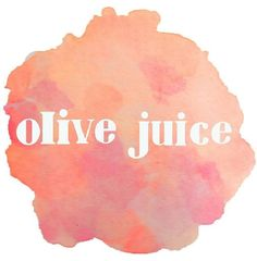 Olive Juice  #iloveyou #watercolor #typography #handlettering #graphicdesign #design #color #olivejuice #art #gso