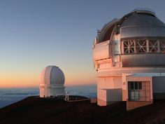 Drive up to the summit of the Mauna Kea volcano in Hawaii and watch the stars come out from the observatory.
