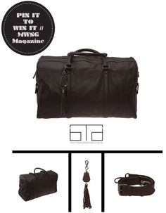// Repin to win a customised luxury Coachella Weekender valued at $500 from The Bag Department.   // Find out more here :: http://gaynoralder.com/2013/06/27/win-design-your-own-luxury-handbag-from-the-bag-department/