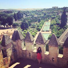 Alcazar de los reyes cristianos en Córdoba