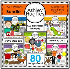 CVC Graphics Bundle (80 Images total): Graphics for Commercial Use