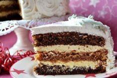 Big Cakes, Food Cakes, Pork Recipes, Cake Recipes, Meringue Cake, Wrap Sandwiches, Something Sweet, Yummy Cakes, Eat Cake