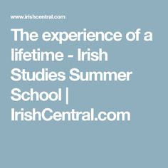 Still haven't decided what your plans for Summer 2017 are? Are you interested in Irish history and culture? Then Ulster University's Irish Studies Summer Program is an absolute must for you. Ireland Language, Summer School, Irish, Study, Education, Irish Language, Ireland, Studying, Educational Illustrations