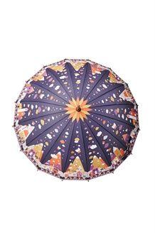 Parapluie canne<BR>Violet