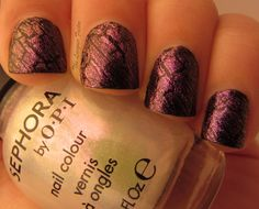 Sephora by OPI Opalescent Blasted and Butter London Branwen's Feather