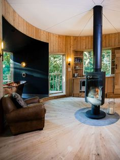 The Woodman's Treehouse Offers the Height of Luxury in Magical Dorset Woodlands