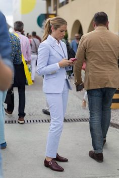 Street Style: Pitti Uomo SS16 - Street Style - Vogue Portugal