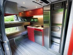Portland-based Outside Van specialize in converting the Mercedes Sprinter into a drool-worthy, tricked-out camper van with loads of interior space…